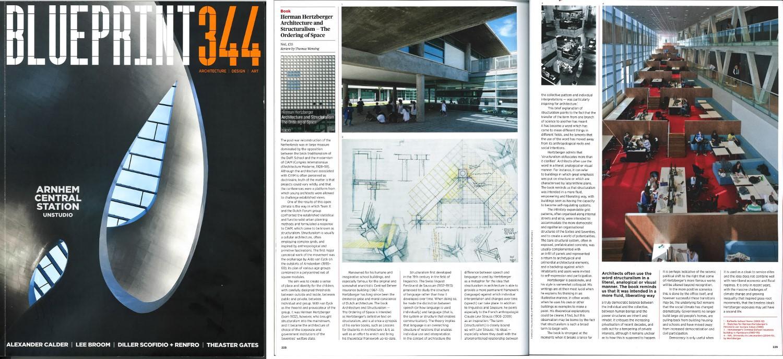 Ahh architecture and structuralism in blueprint blueprint blueprint magazine malvernweather Choice Image